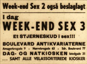 weekend sex annonce
